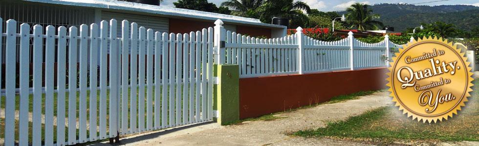 uPVC Vinyl Fence